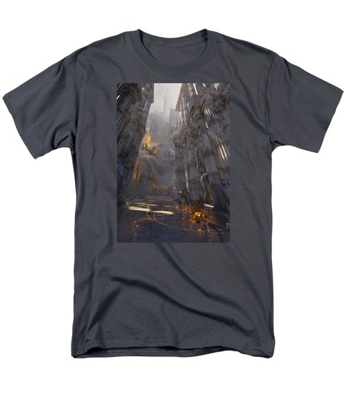 Wonders Temple Of Zeus Men's T-Shirt  (Regular Fit) by Te Hu