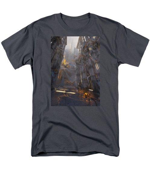 Wonders Temple Of Zeus Men's T-Shirt  (Regular Fit)