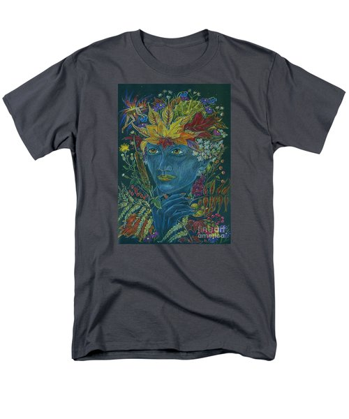 Men's T-Shirt  (Regular Fit) featuring the drawing Woolly Bear Caterpillar by Dawn Fairies
