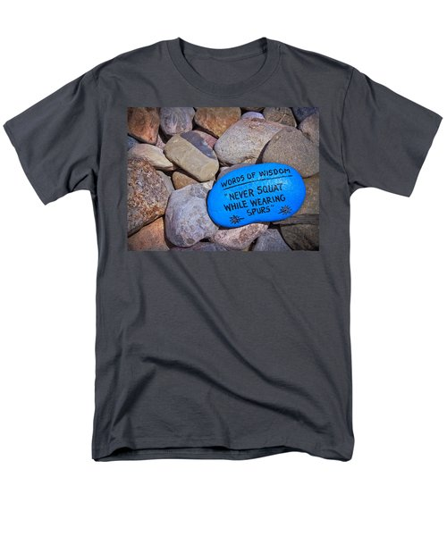 Men's T-Shirt  (Regular Fit) featuring the photograph Words Of Wisdom by Colleen Kammerer