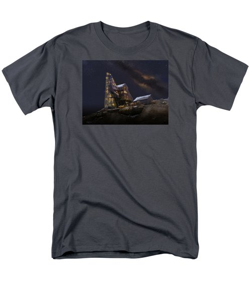 Working Through The Night Men's T-Shirt  (Regular Fit) by J Griff Griffin