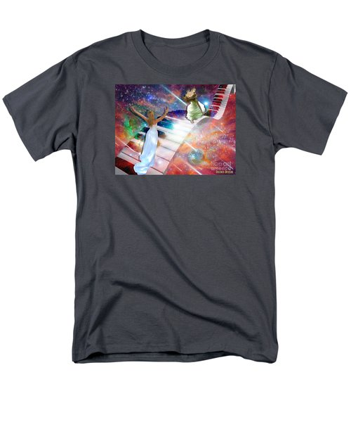 Worship In Spirit And In Truth Men's T-Shirt  (Regular Fit) by Dolores Develde