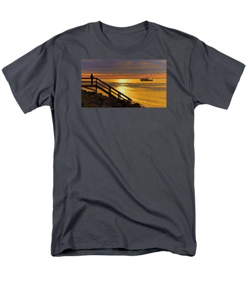 Worth Gettin Up For Men's T-Shirt  (Regular Fit) by Laura Ragland