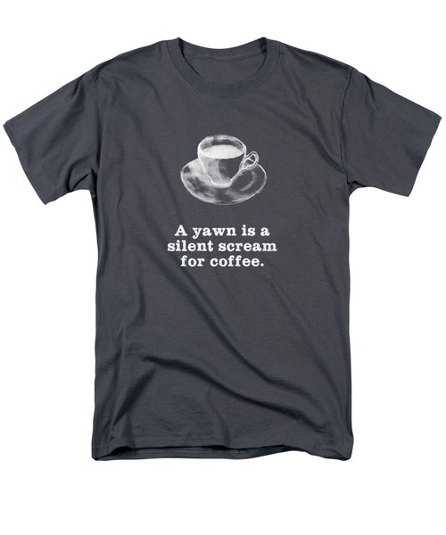 Yawn For Coffee Men's T-Shirt  (Regular Fit)