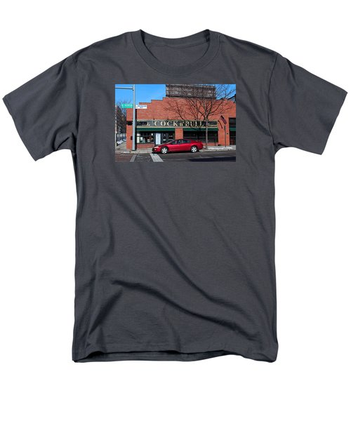 Men's T-Shirt  (Regular Fit) featuring the photograph Ye Olde Cock N Bull by Michiale Schneider