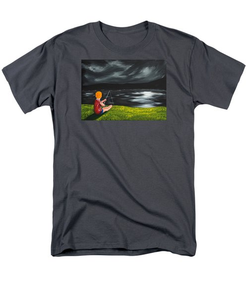Yel No Catch A Kelpie Wi That Men's T-Shirt  (Regular Fit) by Scott Wilmot