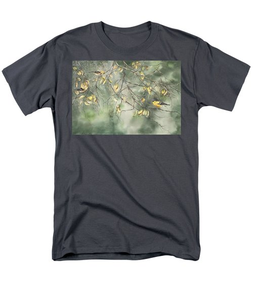 Yellow Finch Men's T-Shirt  (Regular Fit)