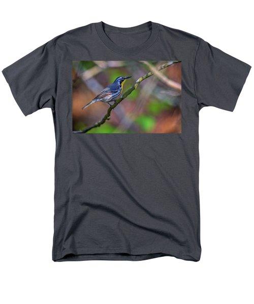 Yellow-throated Warbler Men's T-Shirt  (Regular Fit) by Rick Berk