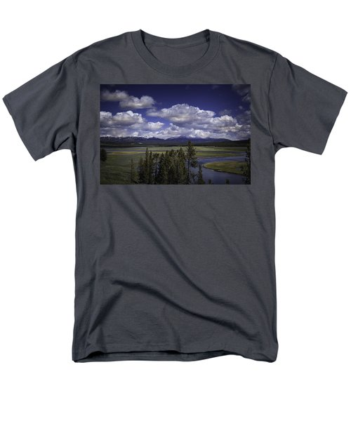 Yellowstone River Men's T-Shirt  (Regular Fit) by Jason Moynihan