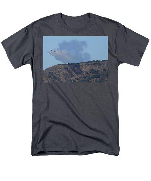 Yes Baby, Angels Do Make Shadows Men's T-Shirt  (Regular Fit)
