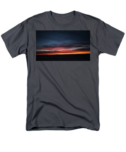 Men's T-Shirt  (Regular Fit) featuring the photograph Yorkton Sunrise by Ryan Crouse