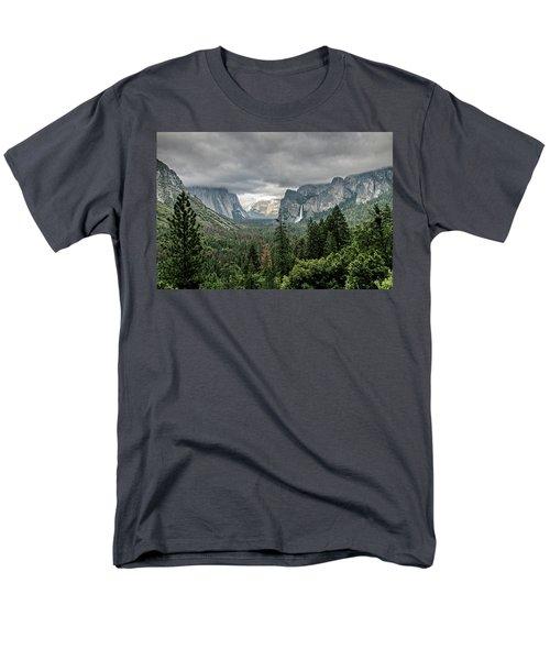 Yosemite View 36 Men's T-Shirt  (Regular Fit) by Ryan Weddle