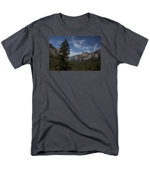 Men's T-Shirt  (Regular Fit) featuring the photograph Yosemite View by Ivete Basso Photography