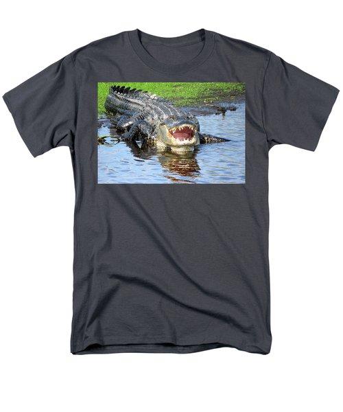 You May Think I'm Smiling Men's T-Shirt  (Regular Fit) by Rosalie Scanlon