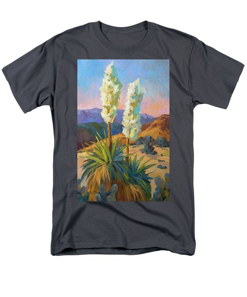 Yuccas Men's T-Shirt  (Regular Fit) by Diane McClary