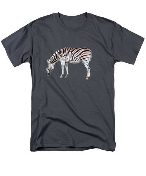 Zebra Men's T-Shirt  (Regular Fit) by Pamela Walton