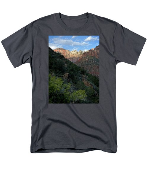 Zion National Park 20 Men's T-Shirt  (Regular Fit) by Jeff Brunton