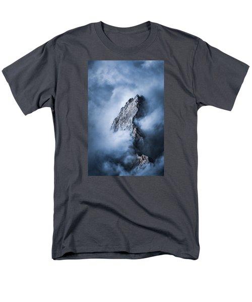 Zugspitze Men's T-Shirt  (Regular Fit) by Yu Kodama Photography