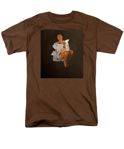 Men's T-Shirt  (Regular Fit) featuring the painting 1 30 Am by Thu Nguyen