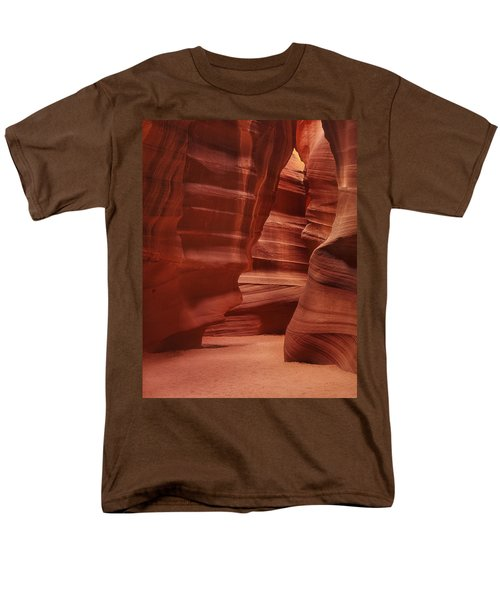 Antelope Slot Canyon Men's T-Shirt  (Regular Fit) by Andrew Soundarajan