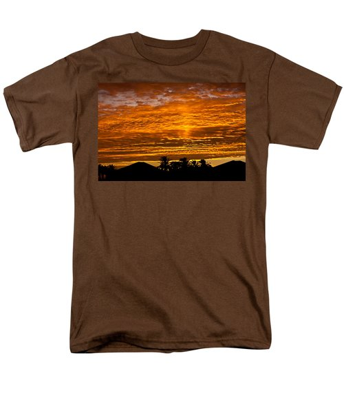 1 Awsome Sunset Men's T-Shirt  (Regular Fit) by Brian Williamson