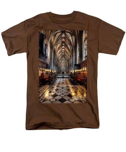 Church Interior Men's T-Shirt  (Regular Fit) by Adrian Evans