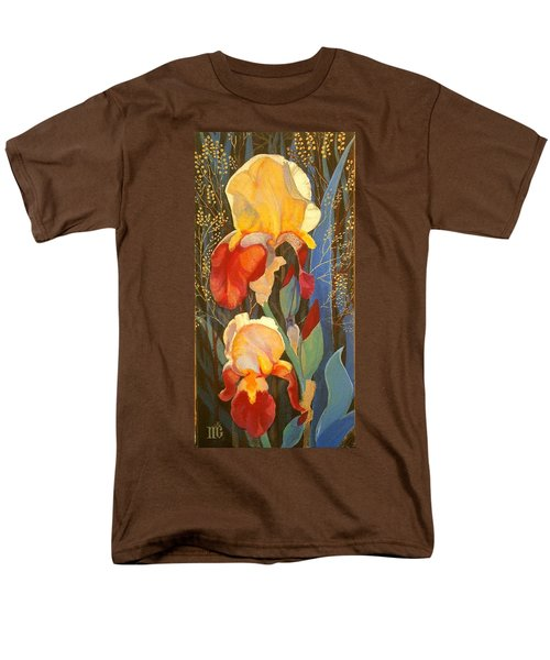 Irises Men's T-Shirt  (Regular Fit) by Marina Gnetetsky