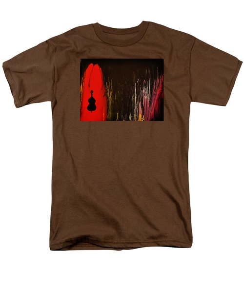 Men's T-Shirt  (Regular Fit) featuring the painting Mingus by Michael Cross
