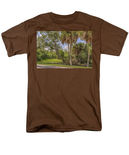 Men's T-Shirt  (Regular Fit) featuring the photograph Oak Trees by Jane Luxton