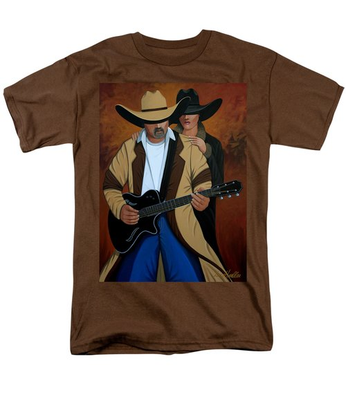 Play A Song For Me Men's T-Shirt  (Regular Fit) by Lance Headlee