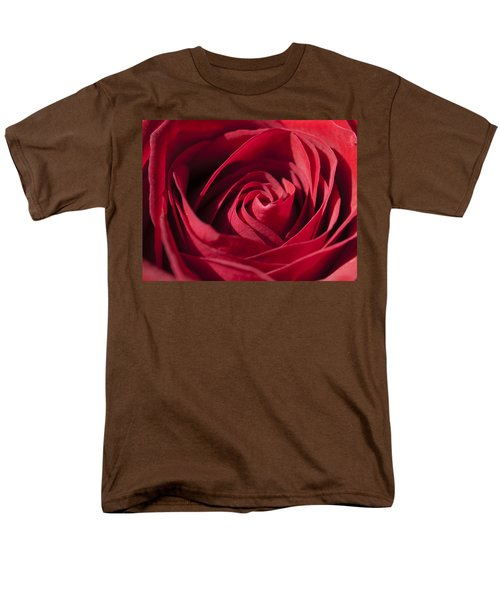 Rose Red Men's T-Shirt  (Regular Fit) by Tara Lynn