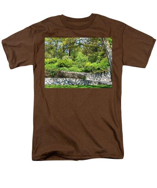 Stone Wall 1 Men's T-Shirt  (Regular Fit) by David Trotter