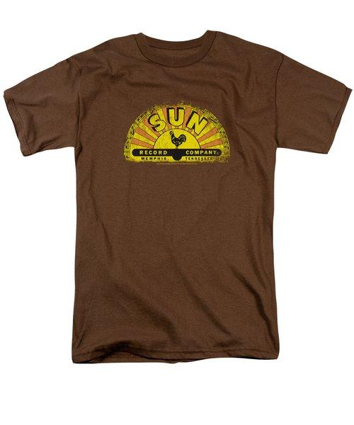 Sun - Vintage Logo Men's T-Shirt  (Regular Fit) by Brand A