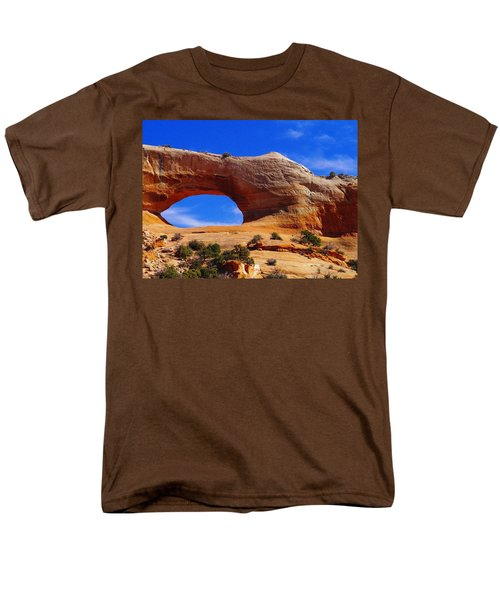 Wilsons Arch Men's T-Shirt  (Regular Fit) by Jeff Swan