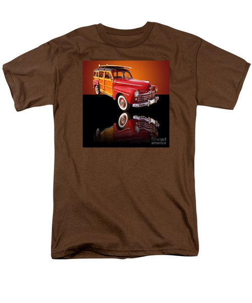 1947 Ford Woody Men's T-Shirt  (Regular Fit) by Jim Carrell