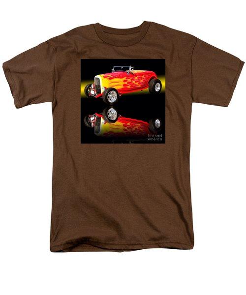 1932 Ford V8 Hotrod Men's T-Shirt  (Regular Fit) by Jim Carrell