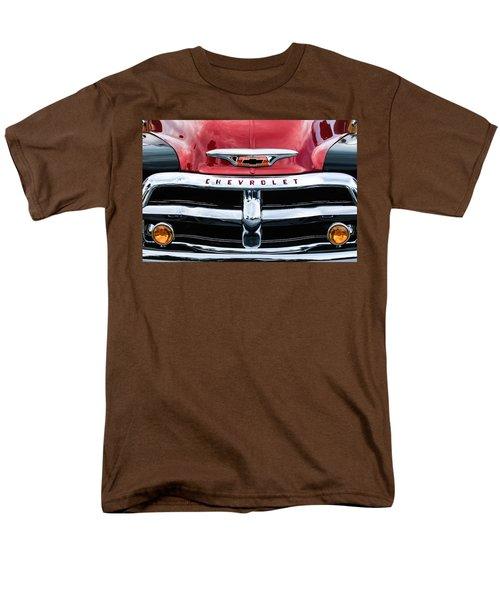 1955 Chevrolet 3100 Pickup Truck Grille Emblem Men's T-Shirt  (Regular Fit) by Jill Reger