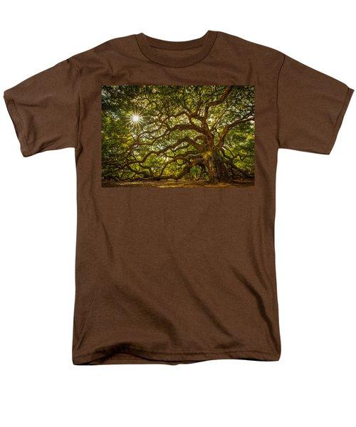 Angel Oak Men's T-Shirt  (Regular Fit) by Serge Skiba
