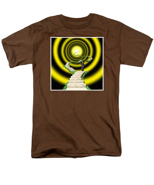 Men's T-Shirt  (Regular Fit) featuring the digital art Ascension by Scott Ross