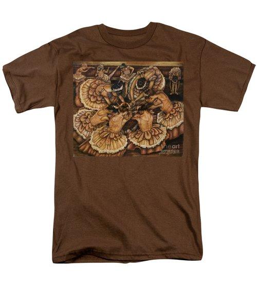 Bouquet Of Ballet    Men's T-Shirt  (Regular Fit) by Linda Simon