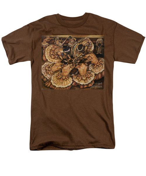 Bouquet Of Ballet    Men's T-Shirt  (Regular Fit)