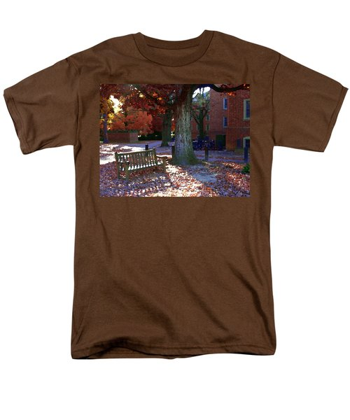 Men's T-Shirt  (Regular Fit) featuring the photograph College Of William And Mary by Jacqueline M Lewis