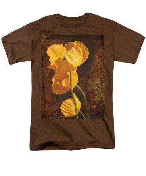 Icelandic Poppy Men's T-Shirt  (Regular Fit)