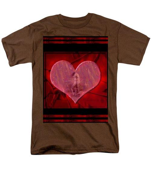 My Hearts Desire Men's T-Shirt  (Regular Fit) by Kurt Van Wagner