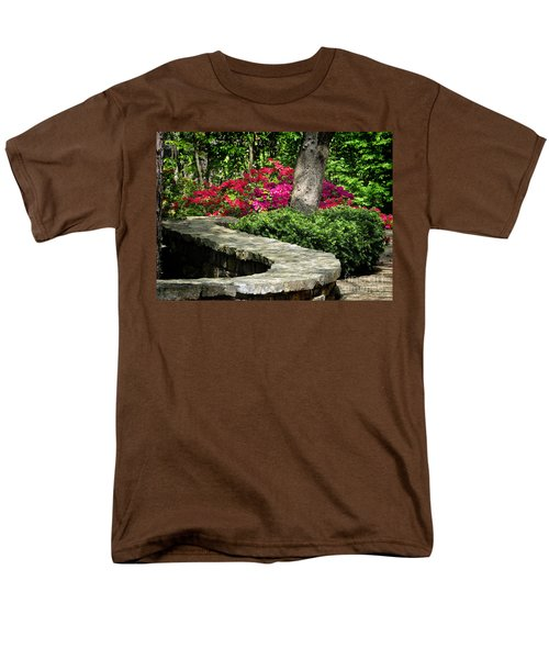 Men's T-Shirt  (Regular Fit) featuring the photograph Stay On The Path by Nava Thompson