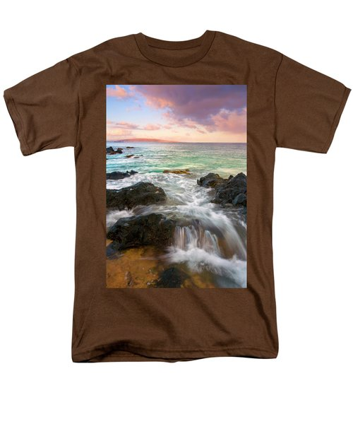 Sunrise Surge Men's T-Shirt  (Regular Fit) by Mike  Dawson