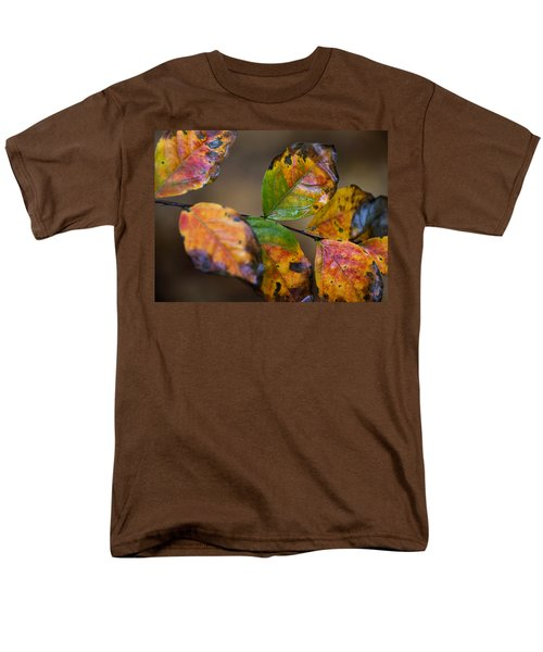 Men's T-Shirt  (Regular Fit) featuring the photograph Turning Leaves by Stephen Anderson