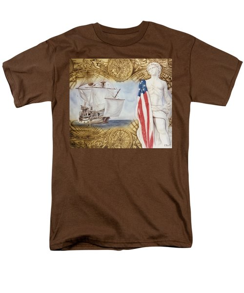 Visions Of Discovery Men's T-Shirt  (Regular Fit) by Rich Milo