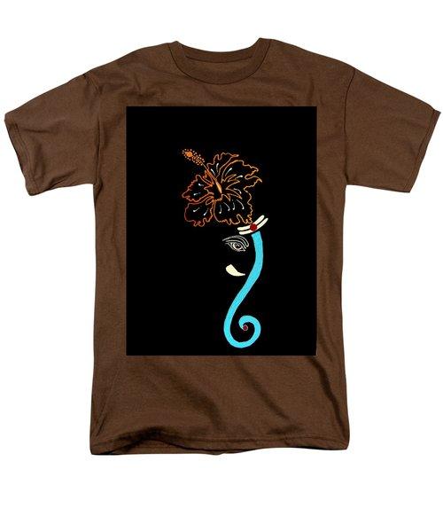 27 Mundakarama Ganesh Men's T-Shirt  (Regular Fit) by Kruti Shah