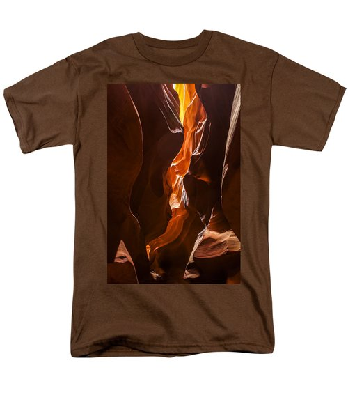 Men's T-Shirt  (Regular Fit) featuring the photograph Antelope Slot Canyon by Andrew Soundarajan